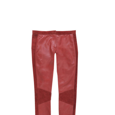 Pantalon simili cuir Morgan 99 euros