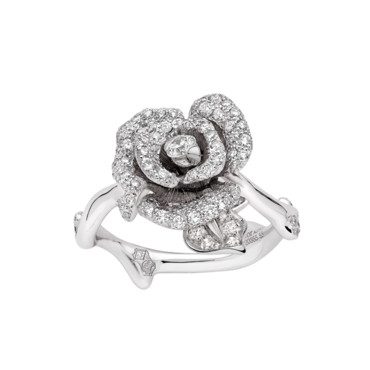 BAGUE ROSE DIOR BAGATELLE OR BLANC DIAMANTS