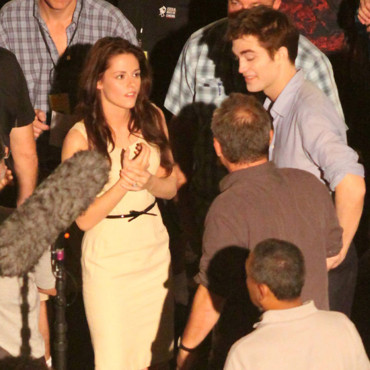 Reportage photos : Robert Pattinson et Kristen Stewart Twilight 4