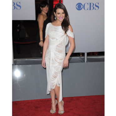 People's Choice Awards Lea Michele en Marchesa