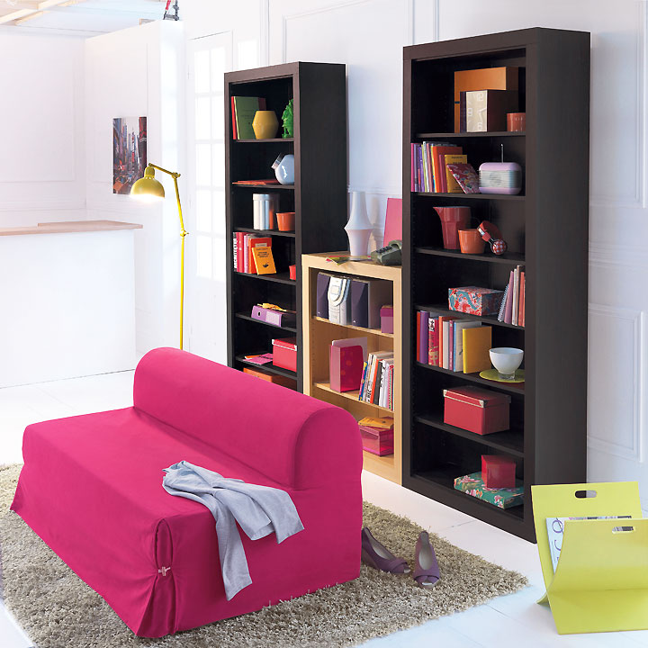 les ambiances d co du nouveau catalogue la redoute 2010 2011 le salon biblioth que imagin par. Black Bedroom Furniture Sets. Home Design Ideas