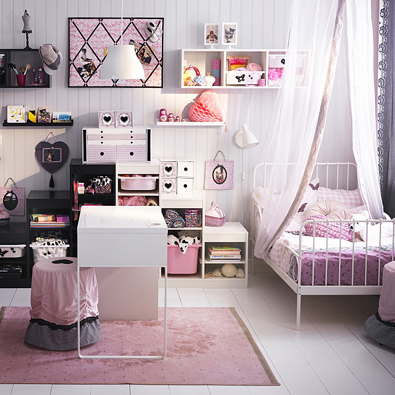 inspiration chambre enfant romantique. Black Bedroom Furniture Sets. Home Design Ideas