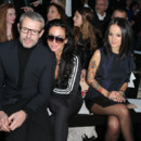 Lambert Wilson and Alizee attending the John Galliano