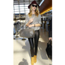 Rosie Huntington-Whiteley à l'aéroport de LA