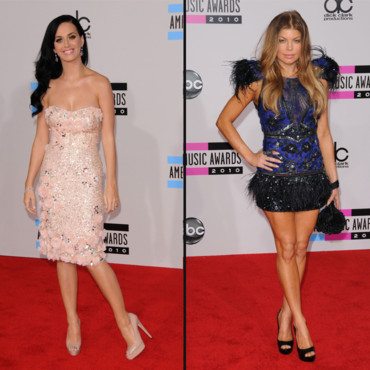 Top Flop American Music Awards Katie Perry vs. Fergie