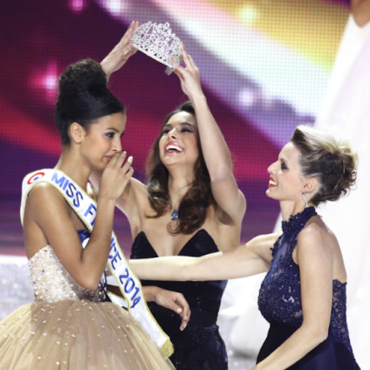 Flora Coquerel, couronnée Miss France 2014