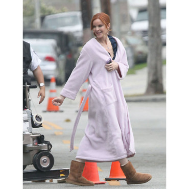 Marcia Cross sur le tournage de Desperate Housewives