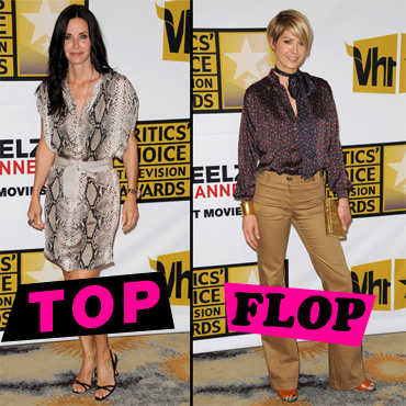 Top Flop Courteney Cox Jenna Elfman