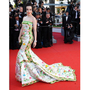 Fan Bingbing en Christopher Bu- Festival de Cannes 2012