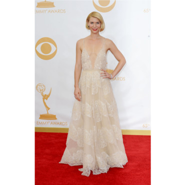 Claire Danes lors des Emmy Awards 2013 à Los Angeles le 22 septembre 2013