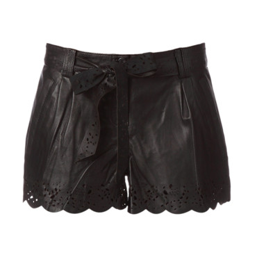 Short en cuir Clo&Se by MonShowroom, 130 euros