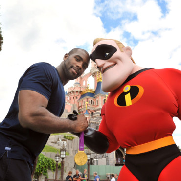 Teddy Riner 7 aot 2012 DisneyLand Paris