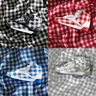 Les baskets Freestyle Square Reebok