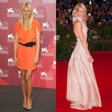 Gwyneth Paltrow version photocall et tapis rouge pour Contagion