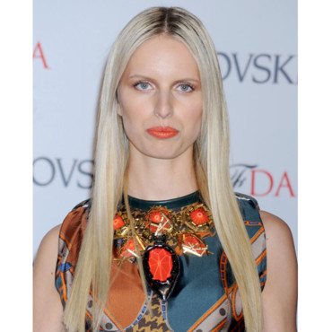Karolina Kurkova blonde coloration CFDA Fashion Awards juin 2012
