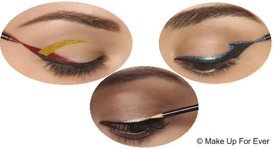 Maquillage yeux : eyeliner Make-Up-For-ever