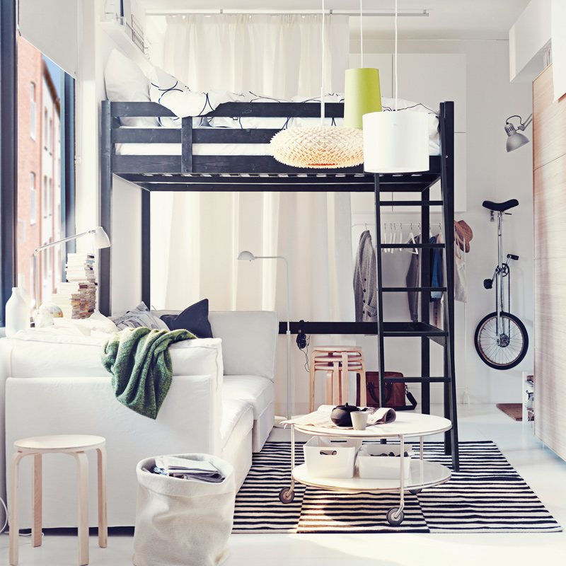 nouveau catalogue ikea les petits espaces l 39 honneur. Black Bedroom Furniture Sets. Home Design Ideas