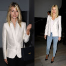 Tendance veste blanche Melanie Laurent Gwyneth Paltrow