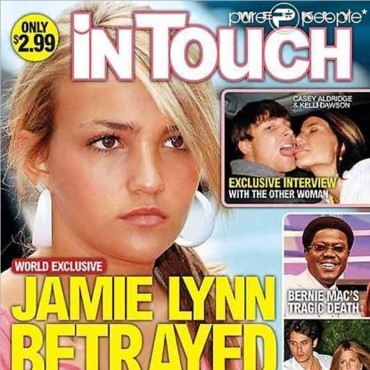 Couverture In Touch Jamie Lynn Spears