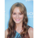 Leighton Meester avant-première That's My Boy Juin 2012 blonde tie and dye coloration