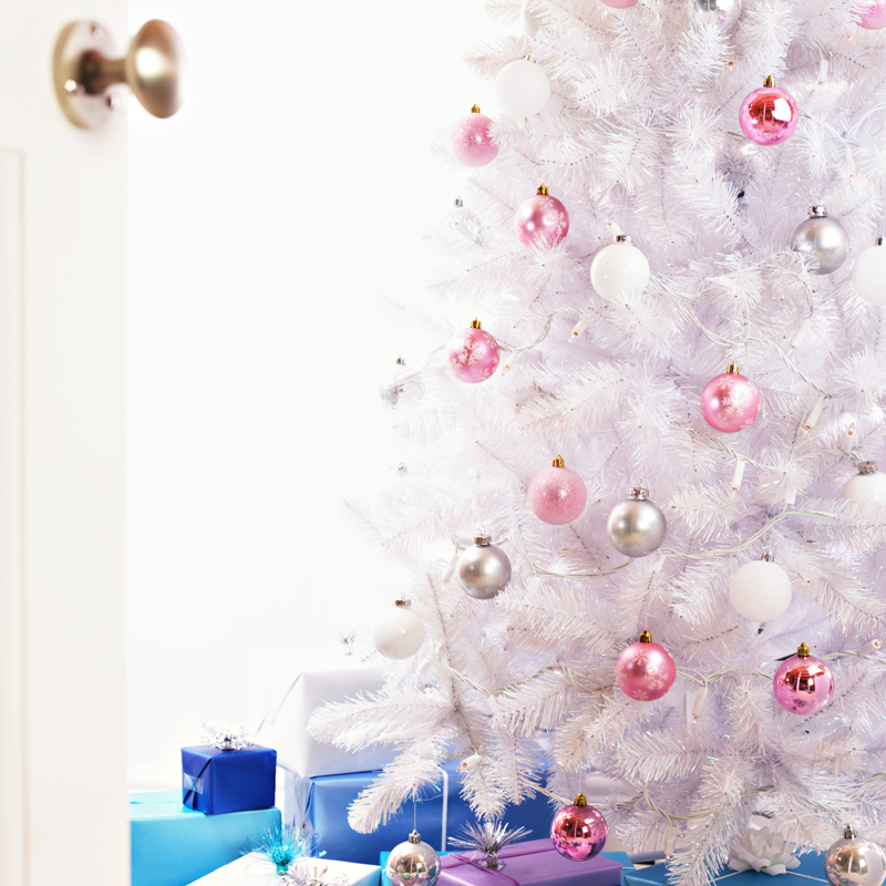 30 sapins de no l pour trouver son style d co un sapin for Decoration de noel rose