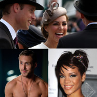Kate Middleton et le Prince William, Rihanna... On va parler d'eux en 2013 !