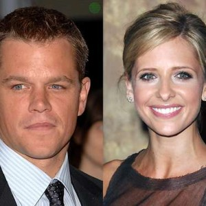 people : Matt Damon et Sarah Michelle Gellar