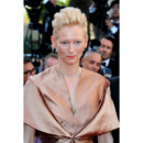 Tilda Swinton blonde coupe courte Festival de Cannes 2012