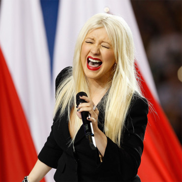 Christina Aguilera au Superbowl