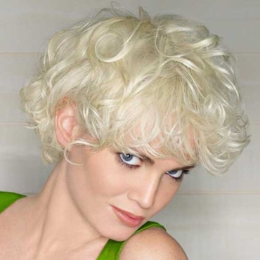 coupe courte blonde Coiff & Co