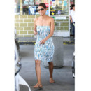 Halle Berry en robe moulante