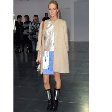 Fashion Week Poppy Delevingne au défilé Christopher Kane