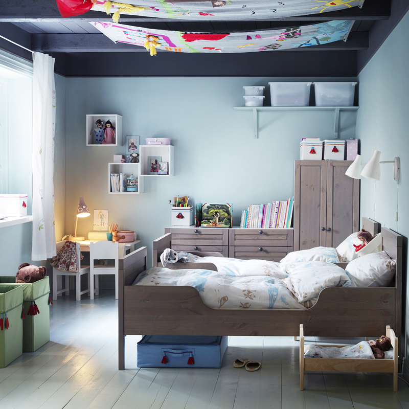 chambre d 39 enfant 40 nouveaux lits mimi pour les petits lit pour enfant sundvik ikea d co. Black Bedroom Furniture Sets. Home Design Ideas