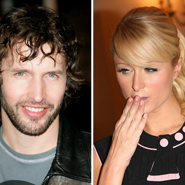 James Blunt et Paris Hilton