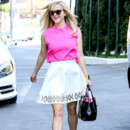 Look du jour: Reese Witherspoon girly à Los Angeles