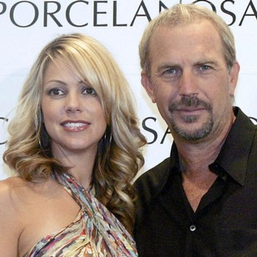 Kevin Costner et Christine Baumgartner