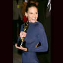 Hilary Swank en Guy Laroche en 2005