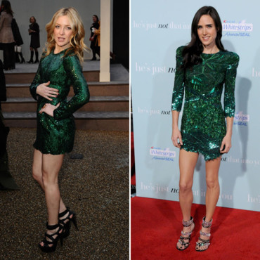 Kate Hudson et Jennifer Connelly en robe sequins