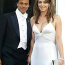People : Elizabeth Hurley et Arun Nayer