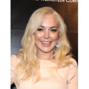 Lindsay Lohan blonde chirurgie esthétique Golden Globes after party janvier 2012