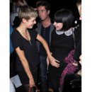 Lily Allen et Agyness Deyn au House of Holland Catwalk Show