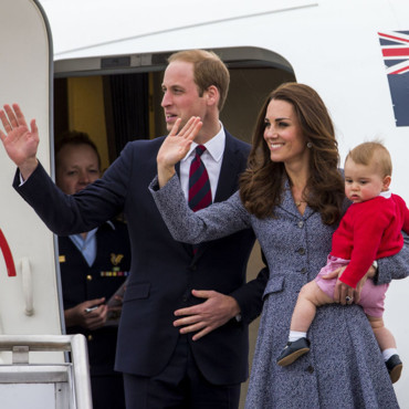 Kate Middleton, William et George quittent l'Australie le 25 avril 2014