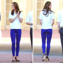 Kate Middleton en total look sport chic pour les JO de Londres