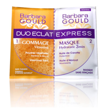 Soins Barbara Gould : Duo Eclat express gommage masque