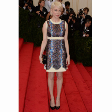 Michelle Williams, rayonnante au Gala du MET 2014.