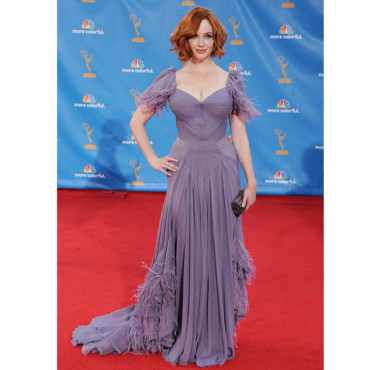 Christina Hendricks en Zac Posen