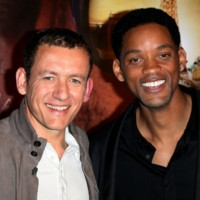 Photo : Will Smith et Dany Boon tout sourire