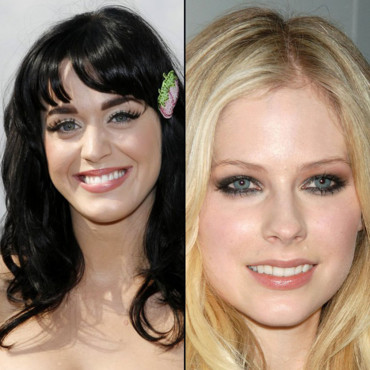Katy Perry et Avril Lavigne