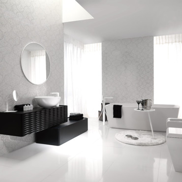 carrelage salle de bain porcelanosa. Black Bedroom Furniture Sets. Home Design Ideas