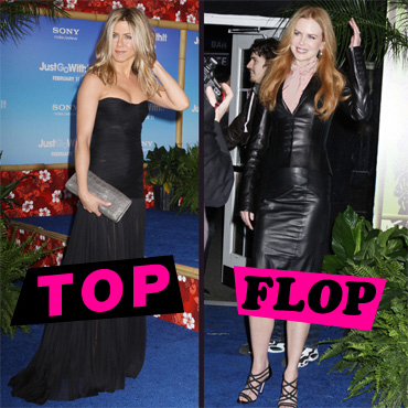 Top Flop Jennifer Aniston Nicole Kidman